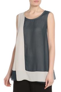 Блуза комбинированная Adzhedo