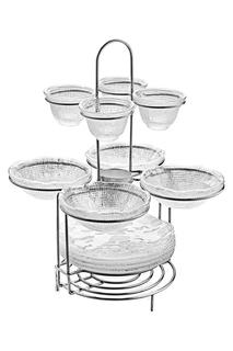 Набор посуды на подставке IVV