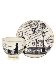 Чашка с блюдцем А.С.Пушкин Федерация