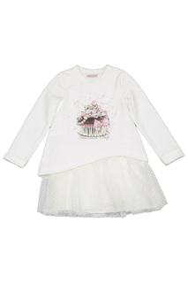 PRINTED DRESS BABY BLUMARINE
