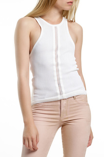 Knitted sleeveless T-shirt John Richmond