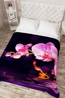 """Покрывало """"Орхидея над водой"""" Сирень"""