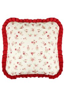 Подушка квадратная с рюшей FRESCA DESIGN