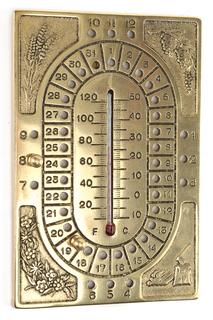 Календарь-термометр, 12х18 см Stilars