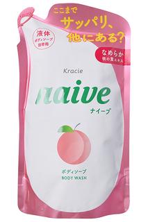 """Мыло жидкое для тела """"Naive"""" KRACIE"""
