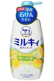 Молочное мыло для тела COW
