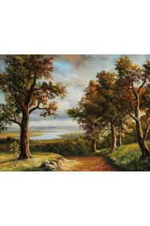 "Картина ""Лесная дорога облака"" Ecoramka"