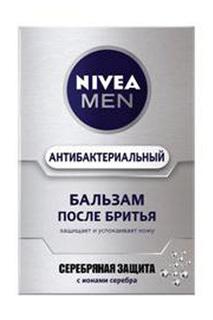 """Бальзам после бритья """"Серебрян NIVEA"""