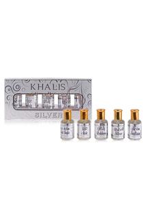 Khalis silver set per Khalis perfumes