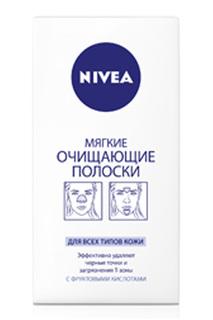 Мягкие очищающие полоски, 6 шт NIVEA