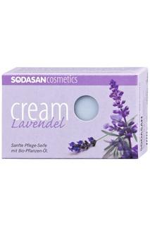 "Крем-мыло ""Лаванда"", 100 гр Sodasan"