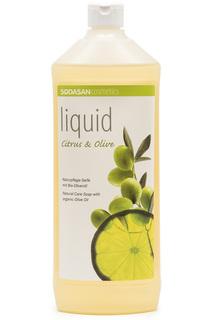 Жидкое мыло цитрус-олива, 1 л Sodasan