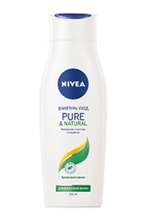 Шампунь Pure&Natural, 400 мл NIVEA