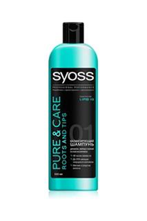 Шампунь для волос, жирных у ко SYOSS