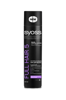 Лак для волос Full Hair 5 Густ SYOSS