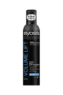 Мусс для укладки Volume Lift, SYOSS
