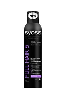 Мусс для укладки экстрасильная SYOSS