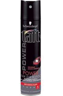 Лак для волос Power с витамина Taft
