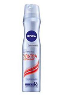 """Лак для волос """"Ультра сильный"""" NIVEA"""