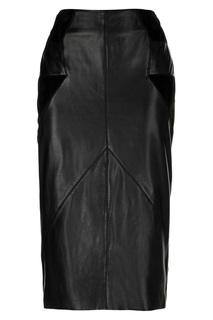 Кожаная юбка Madeleine