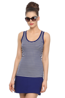 Комплект пляжный - майка, юбка Charmante
