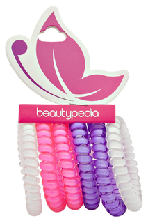 Набор резинок-спиралек, 6 шт. Beautypedia