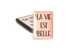"Декоративный поднос ""La vie est belle"" Rosanna"