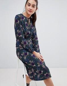 Платье миди с цветочным узором Sugarhill Boutique - Мульти