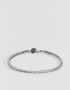 Серебристый браслет-цепочка Aetherston - Серебряный