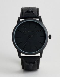 Черные часы с отделкой в виде головы барана ASOS DESIGN - Черный