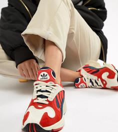 Красные кроссовки adidas Originals Yung-1 - Красный