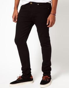 Зауженные джинсы Criminal Damage - Черный