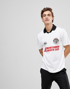 Белая футболка в стиле ретро Element Football - Белый