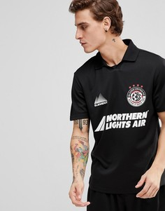 Черная футболка в стиле ретро Element football - Черный