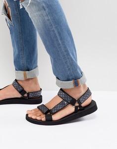 Черные сандалии ALDO Moesen - Черный