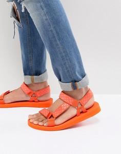 Оранжевые сандалии ALDO Moesen - Оранжевый