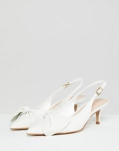 Туфли с ремешком на пятке и узелками ALDO - Белый