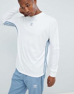 Белый лонгслив adidas Originals Authentic DJ2867 - Белый