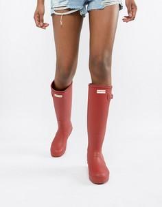 Красные резиновые сапоги Hunter Original - Красный