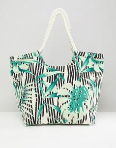Пляжная сумка с принтом South Beach - Мульти