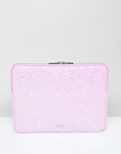 Чехол для ноутбука 13 c розовыми блестками Skinnydip Ana - Розовый