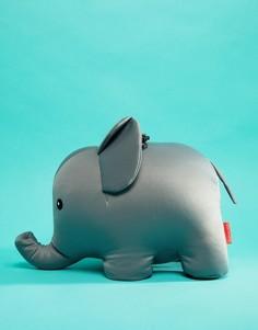 Дорожная подушка с дизайном в виде слона Kikkerland - Мульти