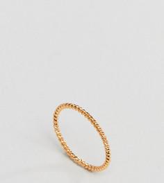 Кольцо из позолоченного серебра DesignB London - Золотой