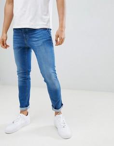 Синие джинсы скинни River Island - Синий