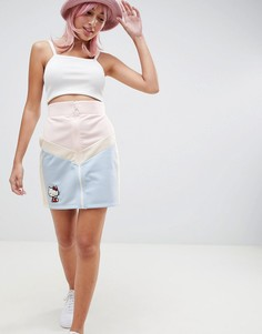 Мини-юбка с вышивкой Hello Kitty x ASOS DESIGN - Мульти
