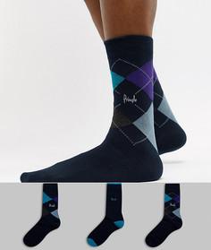 3 пары носков Pringle Waverley - Мульти