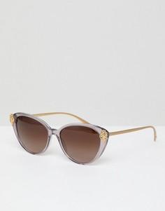 Солнцезащитные очки формы кошачий глаз Versace - Розовый