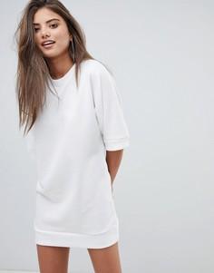 Платье-футболка Boohoo - Белый