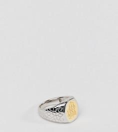 Серебряное кольцо с покрытием из 14-каратного золота Serge DeNimes - Золотой