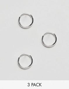 Серьги-кольца Weekday - Серебряный